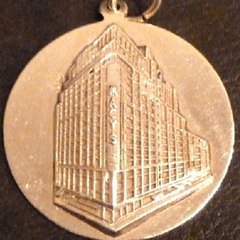 Macy's Retirement Medal