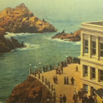 Cliff House Advertisement Card