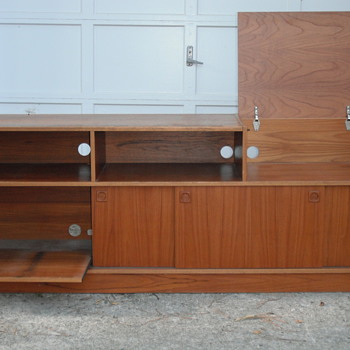 Danish Entertainment Center (unmarked) - Mid Century Modern