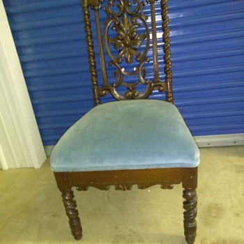 My favorite antique chair - Furniture