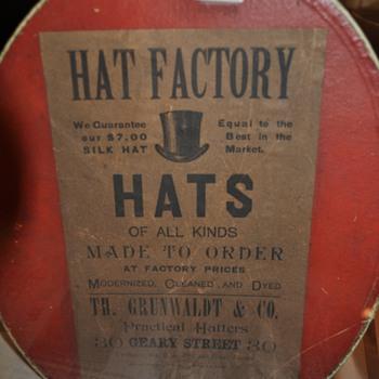 Top Hats - Hats