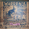 Warren&#039;s Rabbit Brand tea tin