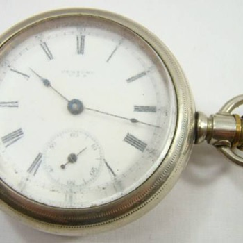 seth thomas century 18 size pocket watch