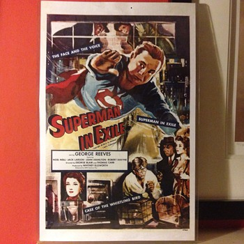 Superman in exile poster 1954