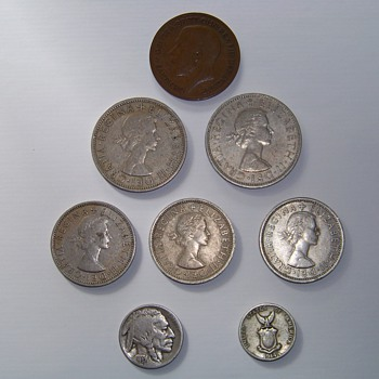 Old Coins of Europe - World Coins