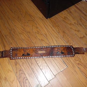 Vintage Large Motorcycle Belt (Harley Davidson????)