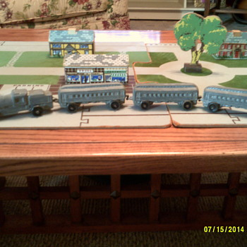 Keystone Train and Village set