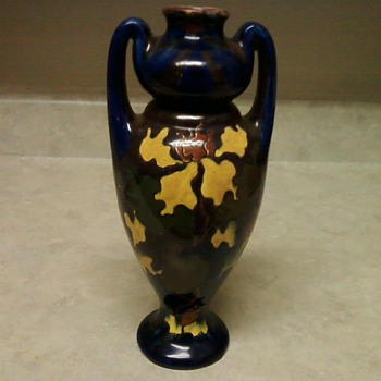 MY LOVELY OLD MOROVIAN POTTERY VASE - Art Pottery