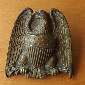 USA Postal Bulldog Clip With USA Brass Eagle?  Any Ideas please? - Office