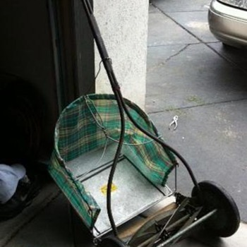 Push Mower with Catcher - Tools and Hardware