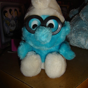 Plush Brainy Smurf