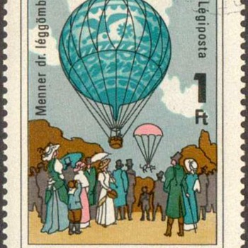 "1983 - Hungary ""Balloon Flight"" Postage Stamps - Stamps"