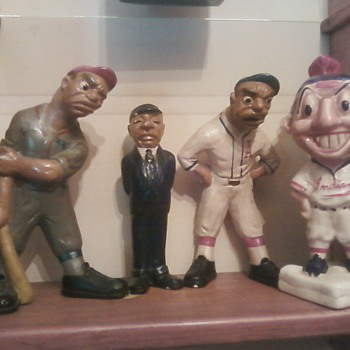 L.L. Rittgers 1941 Baseball Figure Set