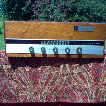 My Granco HI-FI stereophonic tube radio
