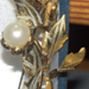 funky gold pin