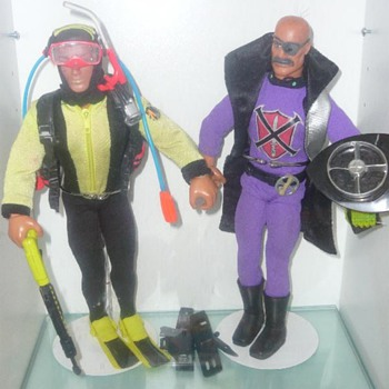 "Vintage 12"" Action Figures - Toys"
