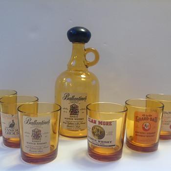 Ballantine's Finest Scotch Whisky set