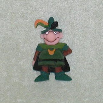 Rubber toy figurine - Spain