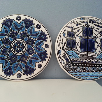 Porcelain Coasters - Kitchen