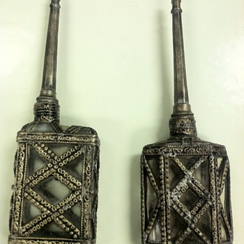 What are these? Please help! - Sterling Silver
