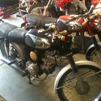 What are these worth? 1960's Honda 90cc - Motorcycles