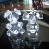 Crystal elephants