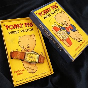 Porky Pig wristwtach