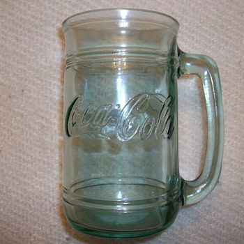 Coca Cola Big Green Mug - Coca-Cola