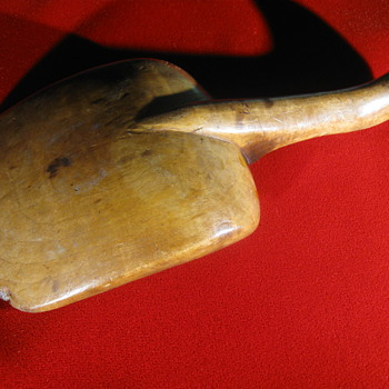 18th Century  .  .  .  Hand-Made Maple Scoop