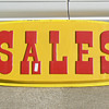 Plastic SALES signs