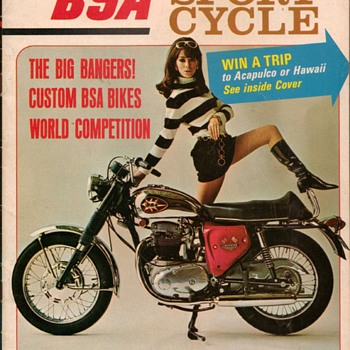 1968 - Sport Cycle Magazine - BSA Issue