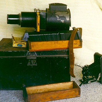 Magic lantern projector - Photographs