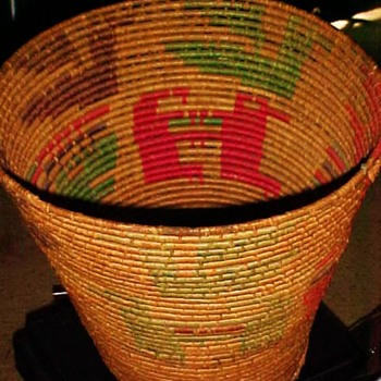 American Indian Large Basket