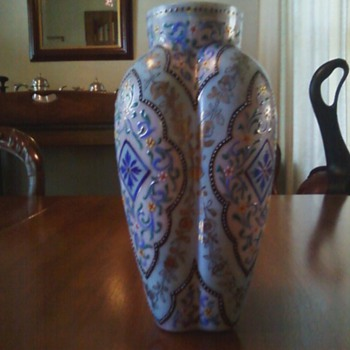 Enameled Vase