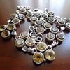 925 Bracelet With Yellow Stones
