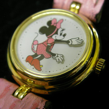 1980s Minnie Mouse Watch - Wristwatches
