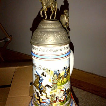 German Stein - Breweriana