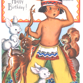 Hiawatha | Fairfield Birthday Story Card
