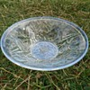 Jobling 'opalique' rose pattern bowl c1931 + other pressed glass from wife's vintage stall