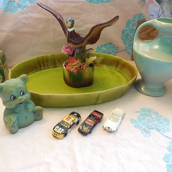 Royal China California Pottery Mallard Planter for Thomas(Brunswick) :^)