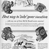 1953 - Bell & Howell Movie Cameras Advertisement