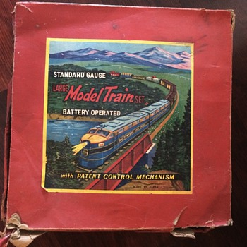 Can anyone tell me the history of this standard gauge train set? - Model Trains