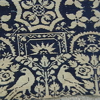 1847 Early American Jacquard Coverlet