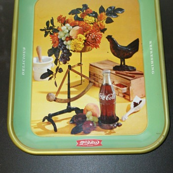 1957 Canadian Coca-Cola Serving Tray