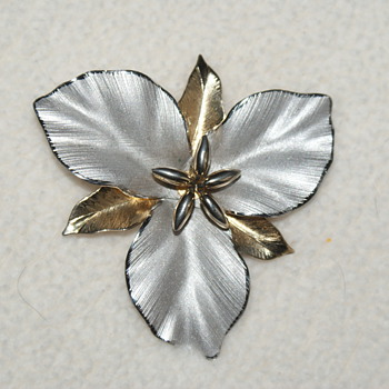 Large Bond Boyd Sterling Silver Brooch