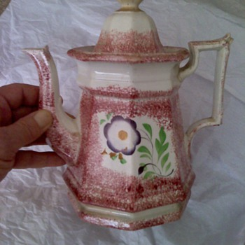 William Adams ?  Coffe pot