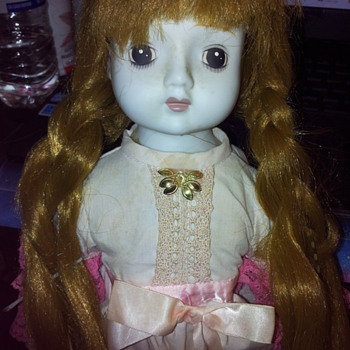 Creepy cute doll of unknown origin!