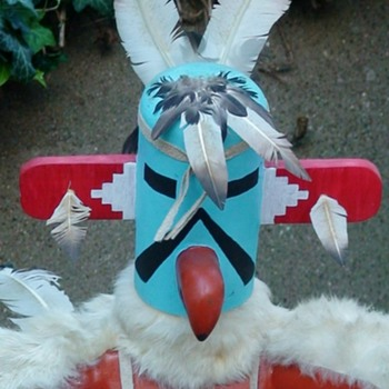 "Kwahu, The ""Eagle Dancer"" Kachina Doll - Dolls"