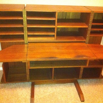 Chinese Teakwood Desk