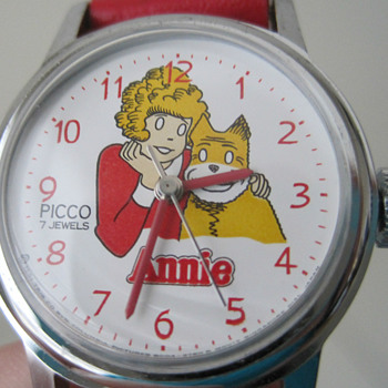 1981 Picco Orphan Annie Wristwatch - Wristwatches